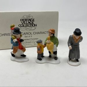 Department 56 Christmas Carol Characters